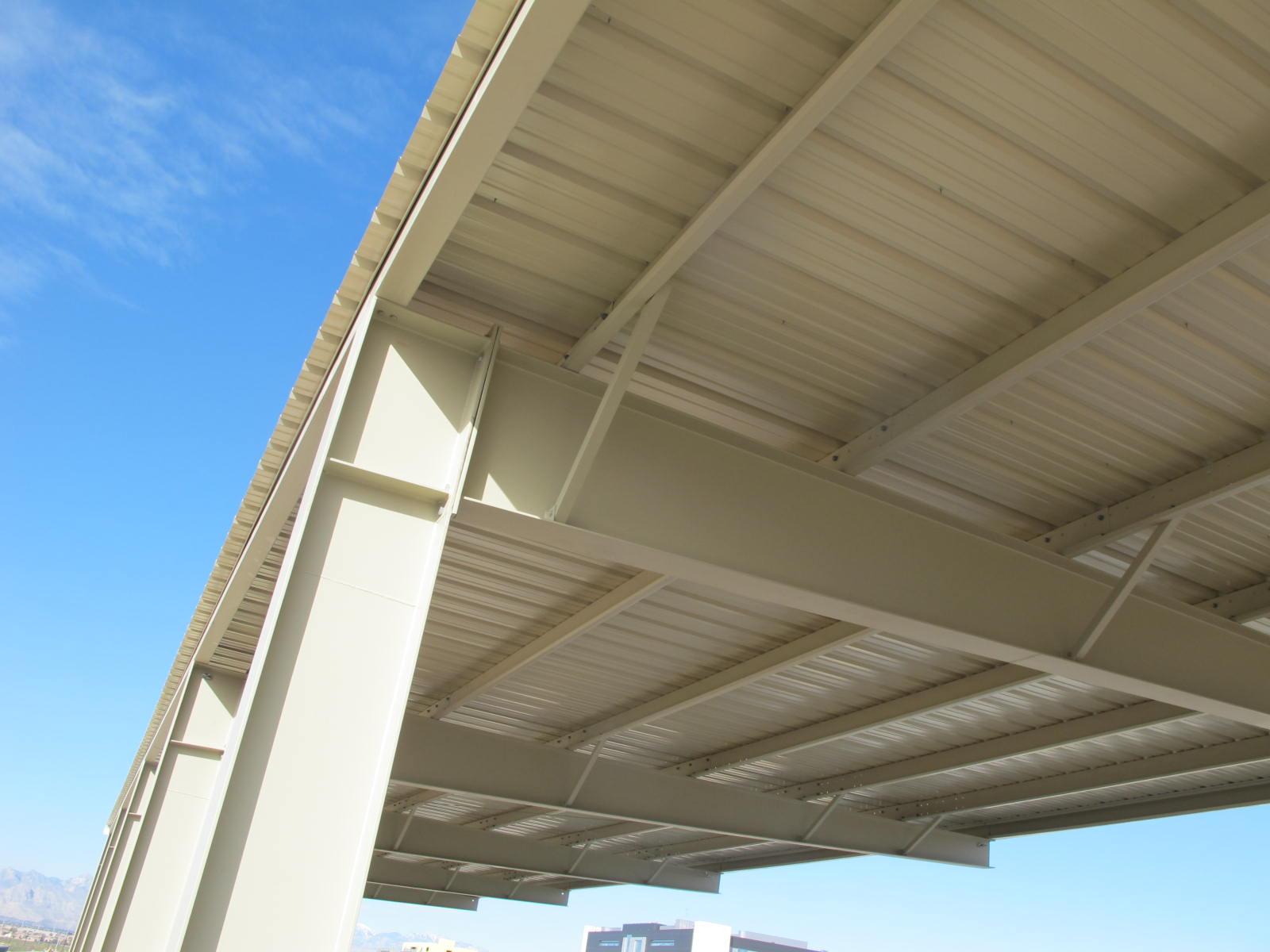 VA Parking Lot Canopy – UNKS Construction